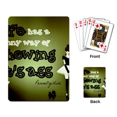 Life Playing Cards Single Design