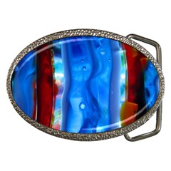 Love Of Is Over Dreams Belt Buckle (oval)