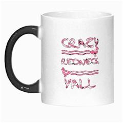 Crazy Redneck Y all Pink Camouflage Morph Mug