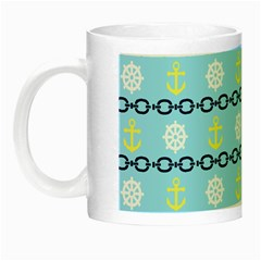 Anchors & Boat Wheels Glow in the Dark Mug