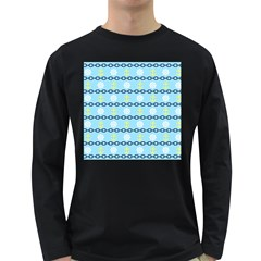 Anchors & Boat Wheels Men s Long Sleeve T-shirt (Dark Colored)