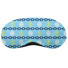 Anchors & Boat Wheels Sleeping Mask