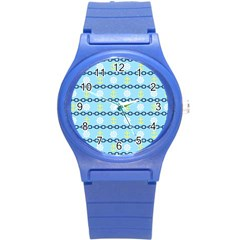 Anchors & Boat Wheels Plastic Sport Watch (Small)