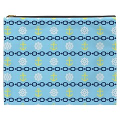 Anchors & Boat Wheels Cosmetic Bag (XXXL)