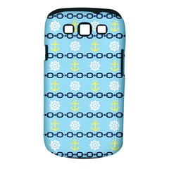 Anchors & Boat Wheels Samsung Galaxy S III Classic Hardshell Case (PC+Silicone)