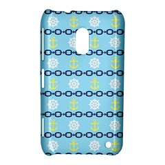Anchors & Boat Wheels Nokia Lumia 620 Hardshell Case