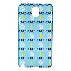 Anchors & Boat Wheels Samsung Galaxy Note 3 N9005 Hardshell Case