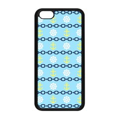 Anchors & Boat Wheels Apple Iphone 5c Seamless Case (black)