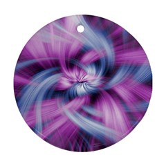 Mixed Pain Signals Round Ornament