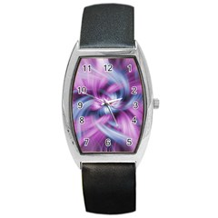 Mixed Pain Signals Tonneau Leather Watch