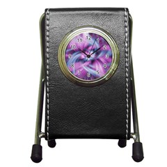 Mixed Pain Signals Stationery Holder Clock