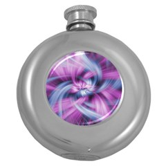 Mixed Pain Signals Hip Flask (Round)