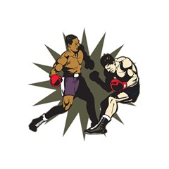 Knockout Boxing Shower Curtain 60  x 72  (Medium)