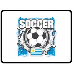 Soccer Uruguay Fleece Blanket (Extra Large)