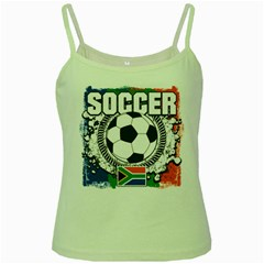 Soccer South Africa Green Spaghetti Tank
