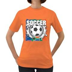 Soccer South Africa Women s Dark T-Shirt
