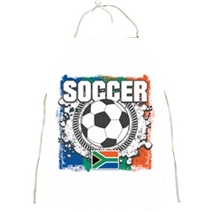 Soccer South Africa Full Print Apron