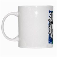 Soccer South Africa White Mug