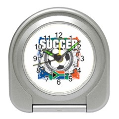 Soccer South Africa Travel Alarm Clock