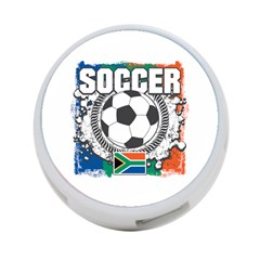 Soccer South Africa 4-Port USB Hub (Two Sides)