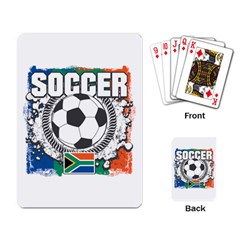 Soccer South Africa Playing Cards Single Design