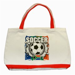 Soccer South Africa Classic Tote Bag (Red)