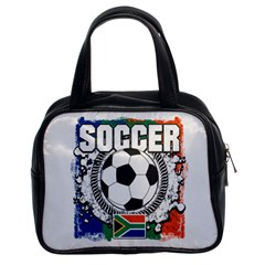 Soccer South Africa Classic Handbag (two Sides)