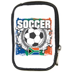 Soccer South Africa Compact Camera Leather Case