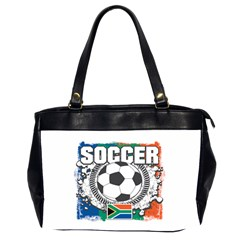 Soccer South Africa Oversize Office Handbag (Two Sides)