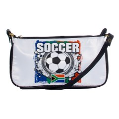 Soccer South Africa Shoulder Clutch Bag