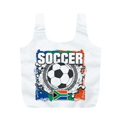 Soccer South Africa Full Print Recycle Bag (m)
