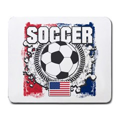 Soccer United States Of America Large Mousepad