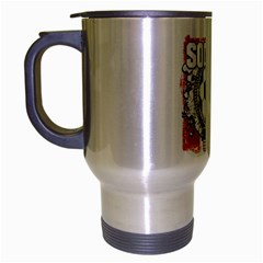Soccer United States of America Travel Mug (Silver Gray)