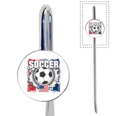 Soccer United States Of America Book Mark