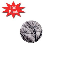 Tree 1  Mini Button Magnet (100 pack)