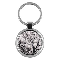 Tree Key Chain (Round)