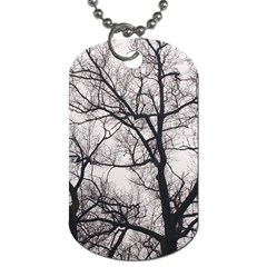 Tree Dog Tag (two Sided)
