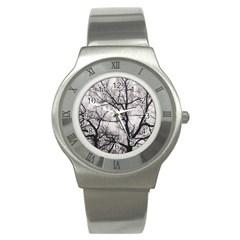 Tree Stainless Steel Watch (Slim)