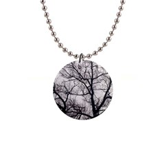 Tree Button Necklace