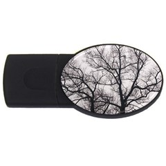 Tree 4gb Usb Flash Drive (oval)