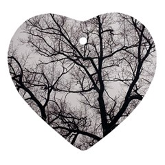 Tree Heart Ornament (two Sides)
