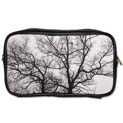 Tree Travel Toiletry Bag (two Sides)