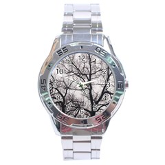 Tree Stainless Steel Watch
