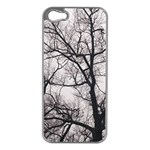 Tree Apple iPhone 5 Case (Silver) Front
