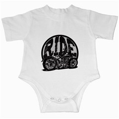 Ride Vintage Motorcycles Infant Creeper