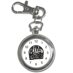 Ride Vintage Motorcycles Key Chain Watch
