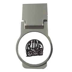 Ride Vintage Motorcycles Money Clip (round)