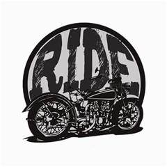 Ride Vintage Motorcycles Canvas 12  x 12