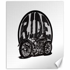 Ride Vintage Motorcycles Canvas 20  x 24
