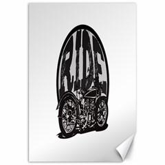 Ride Vintage Motorcycles Canvas 20  x 30